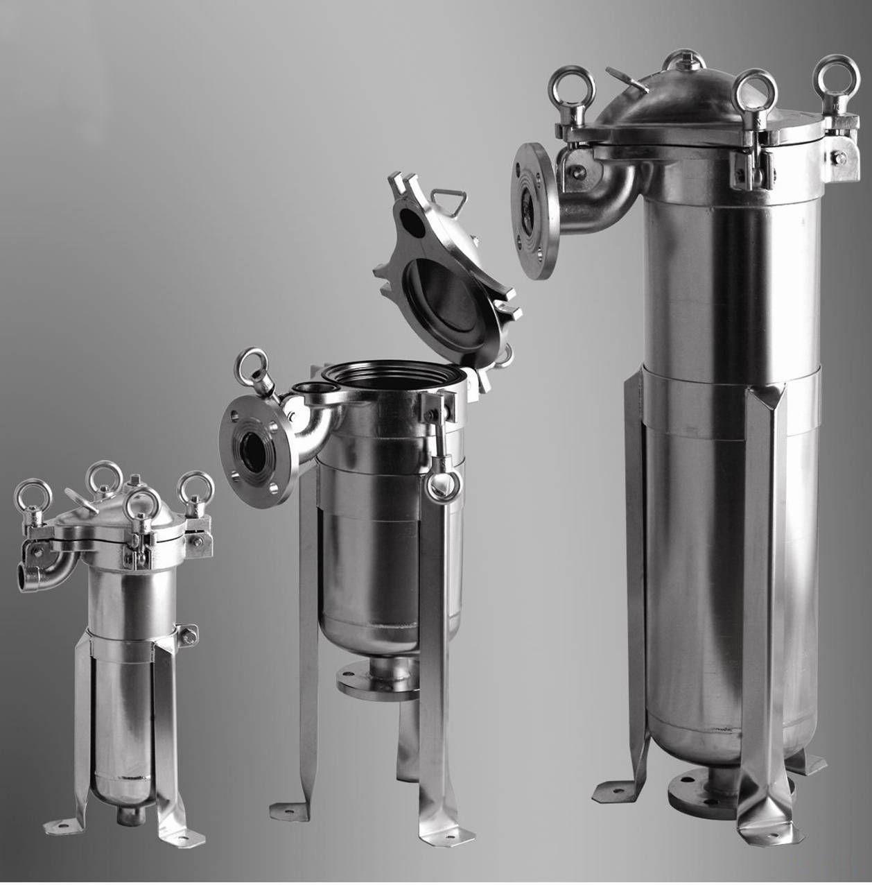 顶入式袋式过滤器的结构和工作原理