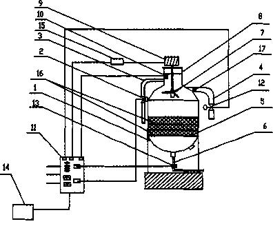 聚合物采油用自动控制反冲洗过滤罐的研究